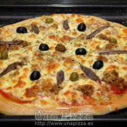 Pizza de Atun y Anchoas